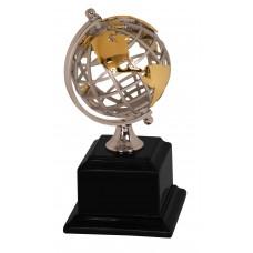 EX003 Gold/Silver Globe